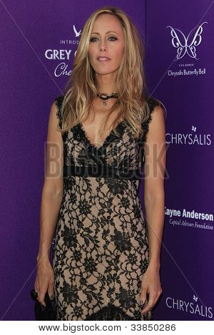 LOS ANGELES - JUNE 9: Kim Raver at the 11th Annual Chrysalis Butterfly Ball held at a private residence on June 9, 2012 in Los Angeles, California