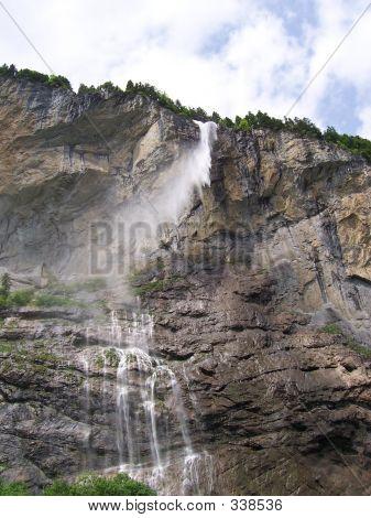 Swiss Waterfall
