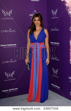 LOS ANGELES - JUN 9:  Jamie Lynn Sigler arriving at 11th Annual Chrysalis Butterfly Ball at Private Residence on June 9, 2012 in Los Angeles, CA