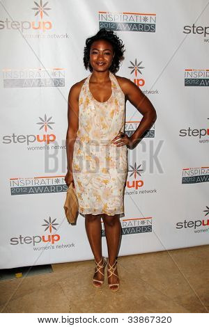 LOS ANGELES - JUN 8:  Tatyana Ali arriving at StepUp Women's Network Inspiration Awards at Beverly Hilton Hotel on June 8, 2012 in Beverly Hills, CA