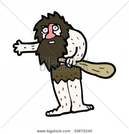 cartoon caveman