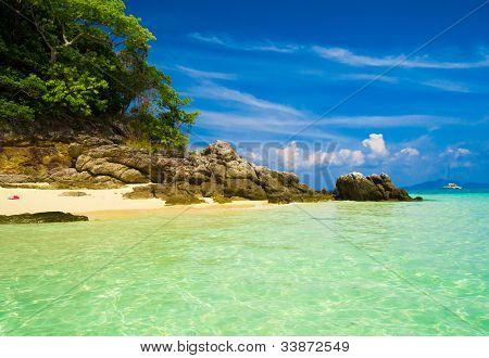 Sunshine Scene Vacation Wallpaper