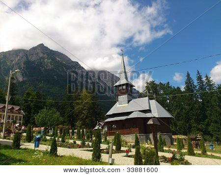 Caraiman Monastery at Busteni, Romania