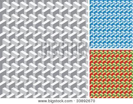 Vector abstracto geométrico perfecta repetición wallpaper