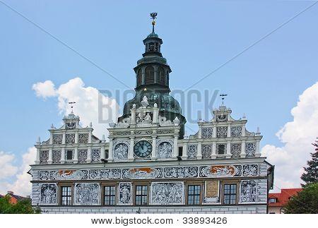 Stribro - Town Hall,czech Republic