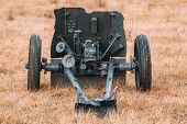 German Anti-tank Gun That Fired A 3.7 Cm Calibre Shell. It Was Main Anti-tank Weapon Of Wehrmacht In poster