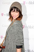 LOS ANGELES - NOV 16:  Mei Melancon arrives at the Google Music Launch at Mr. Brainwash Studio on No