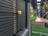 Weight Options For Body Building And Weight Lifting In A Modern And Well Equipped Gym For Weight Los poster