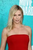 LOS ANGELES - JUN 3:  Charlize Theron arriving at the 2012 MTV Movie Awards at Gibson Ampitheater on