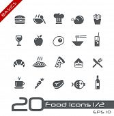stock photo of chinese menu  - Food Icons  - JPG