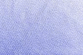 Classic Blue Knitted Fabric Wool Texture For Background. Close Up Of Blue Knitted Material Pattern F poster