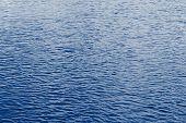 Navy Classic Blue Sea Water Texture. Classic Blue Pool Water With Sun Reflections. Trendy Colour 202 poster