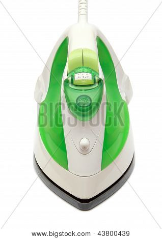 Electric Iron Isolated On White Background