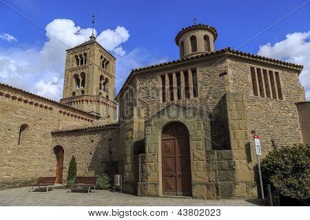Church Of Santa Eugenia De Berga