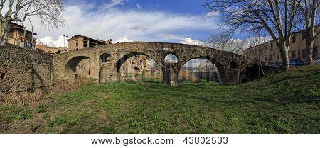Roman Bridge In Vic