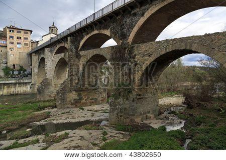 Roman Bridge In Roda De Ter