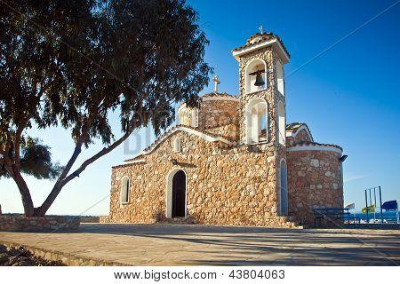 Ayios Elias Church auf dem Hügel