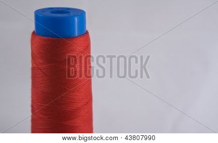 Red Cotton Spool