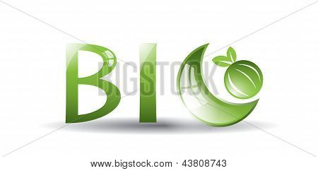 Green bio label