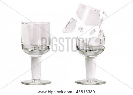 Photo of Fragile cup glass