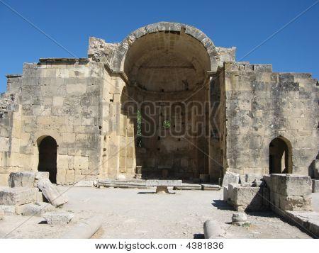 Ancient Church At Gortys