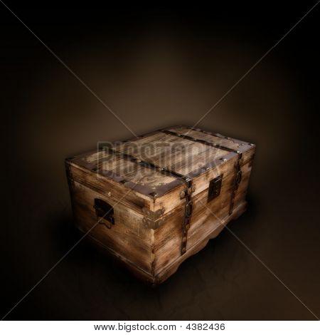Wooden Box (grunge Scene)