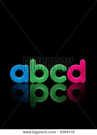 Abcd Plastic Alphabet
