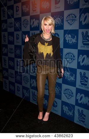 LOS ANGELES - MAR 21:  Chelsea Kane arrive at the Batman Product Line Launch at the Meltdown Comics on March 21, 2013 in Los Angeles, CA