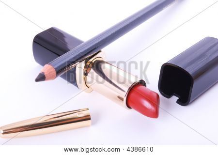 Lipstick And Crayon