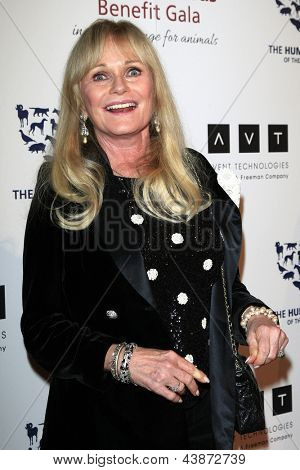 BEVERLY HILLS - Mär 23: Valerie Perrine am die 2013 Genesis Awards-Benefiz-Gala zu den Beverly-Griff