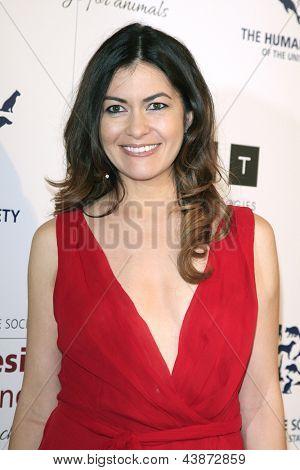 BEVERLY HILLS - Mär 23: Leilani Munter auf die 2013 Genesis Awards-Benefiz-Gala in der Beverly-Hilto