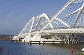 image of ijs  - Enneus Heerma bridge in Amsterdam - JPG