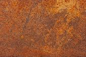 picture of scrap-iron  - Rusty metal background for backgrounds or texture - JPG