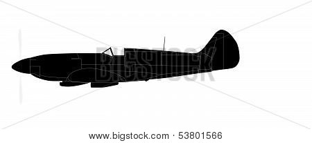 Fighter Plane Silhouette