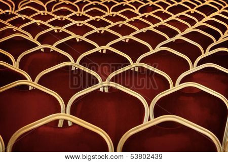 Auditorium empty seats