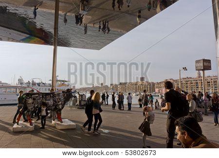 Tourist In Marseille