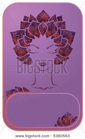 Violeta mujer