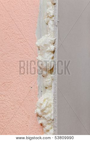 Wall Insulation Detail