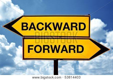 Backward Or Forward