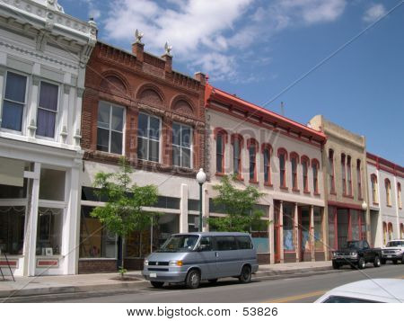 Restored Main Street