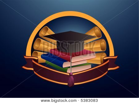 Bildung-Emblem