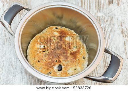 Fresh baked focaccia bread