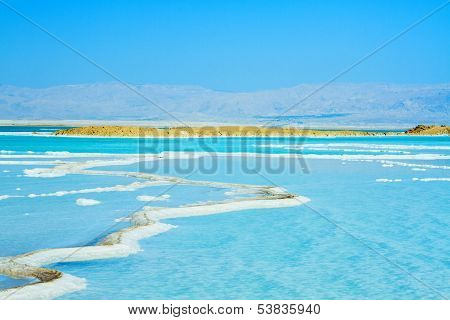 Beautiful Coast Of The Dead Sea