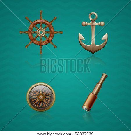 Iconos de mar