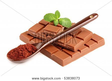 Milk Chocolate, Mint And Cocoa