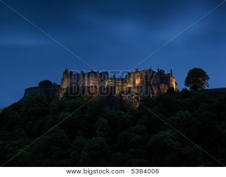 Stirling Castle At Dawn