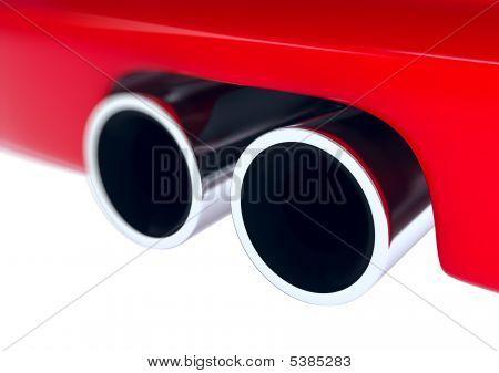Muffler car