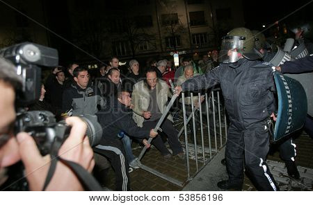 Bulgaria Anti Government Protest