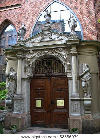 Swedish Church Door