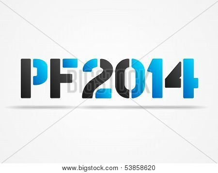 Pf 2014 Blue Poster